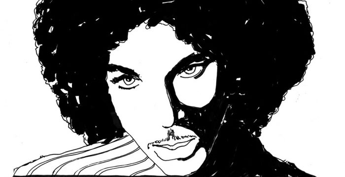 illustration of Prince